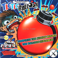 Party Toys Tictic Balloon Timing Bomb Complete Mission Before Balloon Explodes Play Game For Family Kid