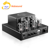 Nobsound MS 10D MKII Tube Amplifier Black HI FI Stereo Amplifier 25W 2 Vaccum Tube AMP