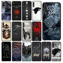 Yinuoda Spiel Thrones Wolf Kunden DIY Painted Schöne Telefon Fall für Huawei P10 plus Honor 9 10 Ansicht 10 Mate 9 Coque Shell(China)