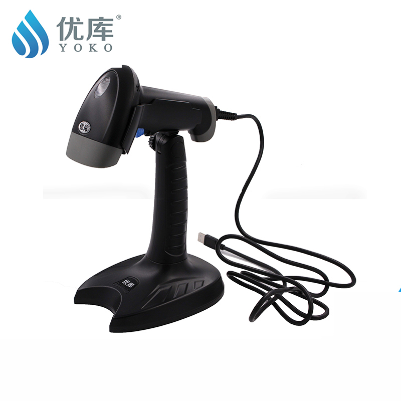 Handfree auto scan QR/1D/2D YK-M4 pharmacy gs1 datamatrix  cigarette alcohol  PDF417 QR code39  qr scanner(China)