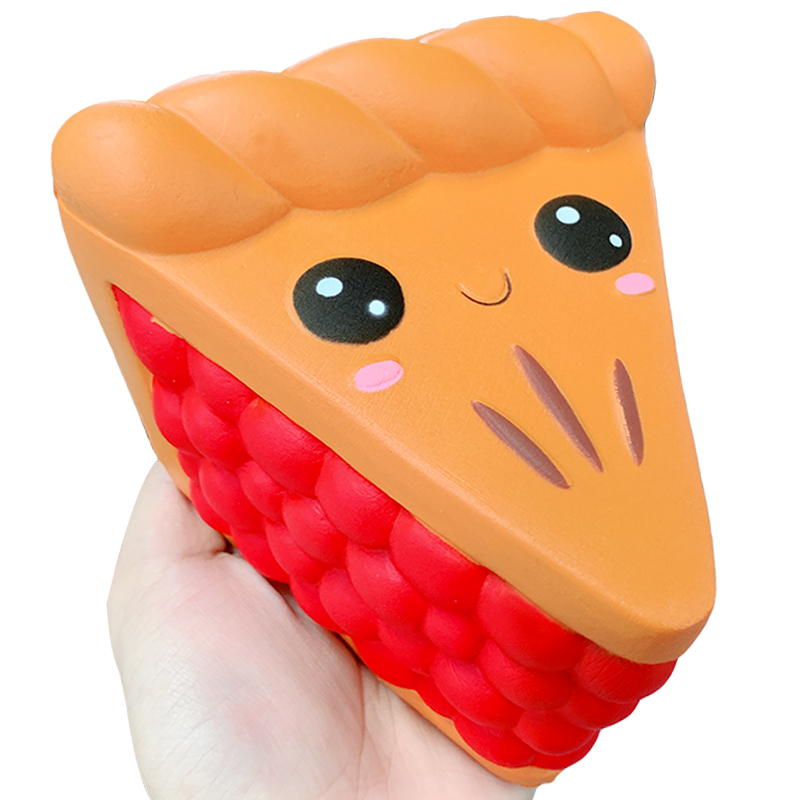 Jumbo Jam Pizza Squishy Cute Slow Rising Simulation Sweet Scented Novelty Squeeze Toy Stress Relief Fun Gift Toy For Children