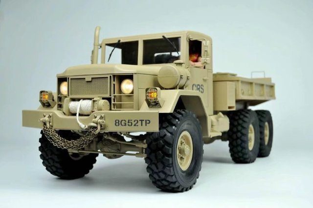 buy new 1 10 scale rc 6x6 military truck. Black Bedroom Furniture Sets. Home Design Ideas