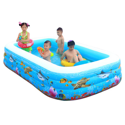 Household inflatable swimming pool inflatable pool baby big ...