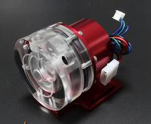 d5 12v water cooling pump use for water cooling with Aluminum alloy  cover, P/N:WC PUMP12V D5RDL2