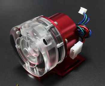 d5 12v water cooling pump use for water cooling with Aluminum alloy cover, P/N:WC-PUMP12V-D5RDL2 - SALE ITEM Computer & Office
