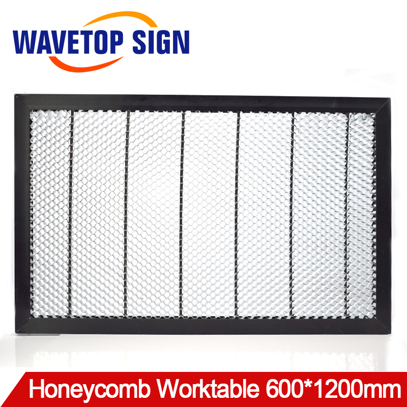 honeycomb worktable 1260 size 1200MM*600MM Cellular Workbench/use for laser engraving and cutting machine! fiber laser mark machine lift worktable laser mark machine lead head up and down system lift system height 600mm 800mm