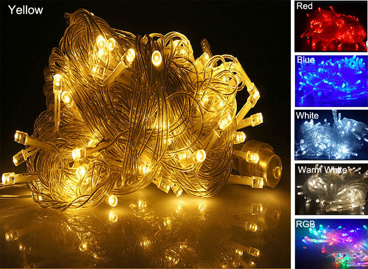 30M 300 LED String Lighting Wedding new year Xmas Holiday Fairy Christmas Lights Outdoor Tree Lights NEW