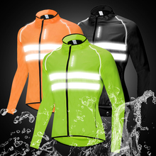 High Visibility Moto Jackets Men Breathable Windproof Reflective Rain Water Resistance Running Motorcycle Sports Windbreaker цена и фото