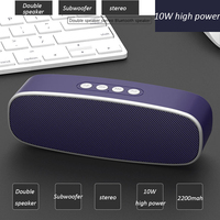 Portable wireless Speaker Stereo big 10W power VS anker soundcore 2 Bluetooth system TF FM Radio Music Subwoofer Column Speakers