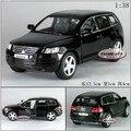 Candice guo! venda quente Super cool 1:38 mini modelo liga brinquedo do carro Touareg bom para o presente 1 pc