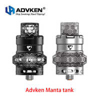 Original Advken Manta Tank serpentine pattern tank 5ml Resin e-cigarette atomizer Mesh coil compatible TFV8 Baby Tank