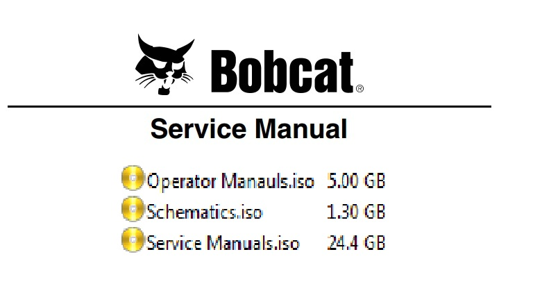 US $185 0 26% OFF|BOBCAT Service Manuals ,Schematics and Operator Manuals  [19 1 GB]-in Software from Automobiles & Motorcycles on Aliexpress com |