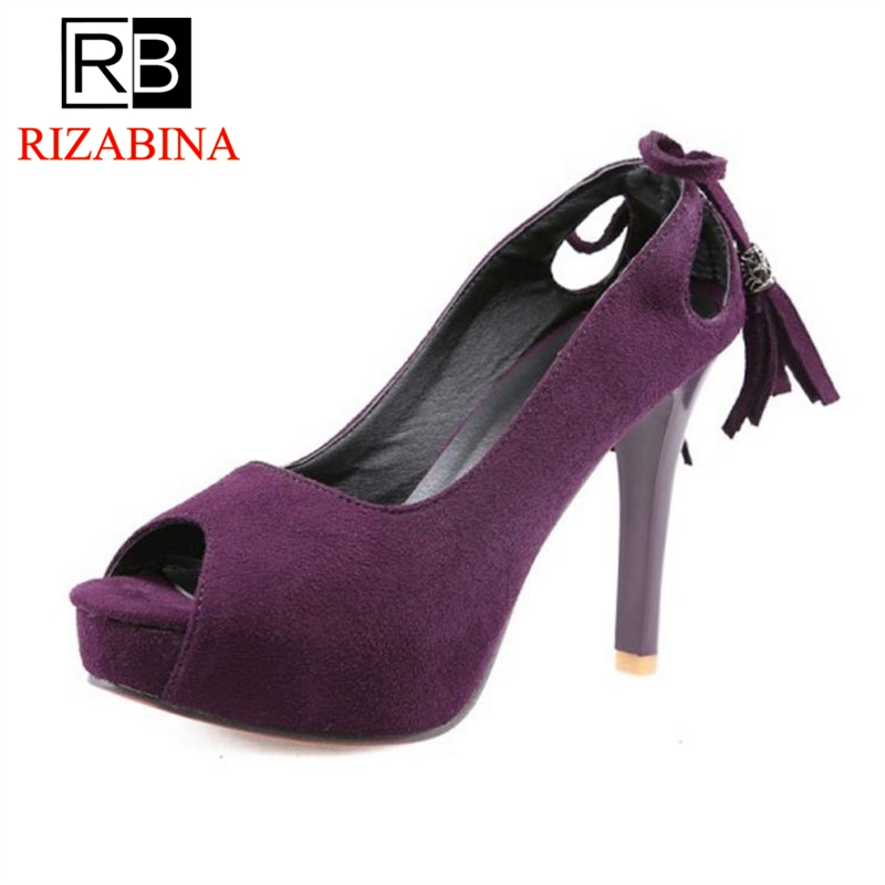7fdd86579a8 33 Classics Bowknot Calzado Plataforma púrpura Tacones Boda rosado Oficina  Negro 43 Borlas Tamaño Sexy Party Sandalias Rizabina Zapatos Mujeres  HxOwq1x05