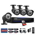 ANNKE 8CH 1080P HD DVR 1TB HDD IR-CUT Indoor Outdoor CCTV Security Camera System