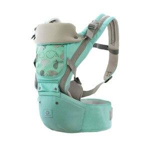 Image 2 - Ergonomische Baby Träger Infant Baby Hipseat Taille Träger Vorne Ergonomische Känguru Schlinge für Baby Reise 0 36M 20KG