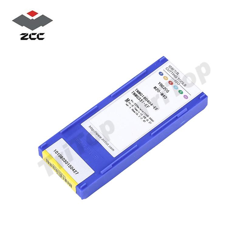 TNMG160404 -EF YBG205 ZCC.CT UTENSILE da taglio inserti per tornitura - Macchine utensili e accessori - Fotografia 6