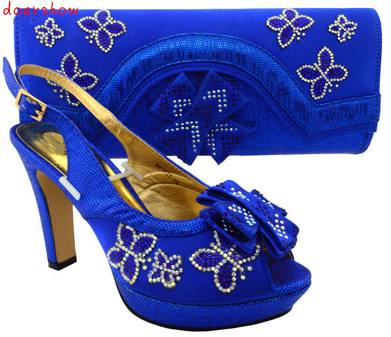 African Shoes and Bags Matching Set High Quality Italian Matching Shoe and Bag Set Italy Shoe and Bag Match doershow MM1-51 hot artist shoes and bag set african sets italian shoes with matching bags high quality women shoes and bag to match set mm1055