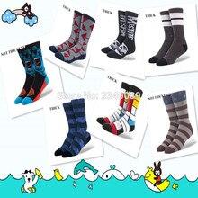 1 пара американский бренд чесаные хлопковые носки скейтбордиста мужские носки женские носки