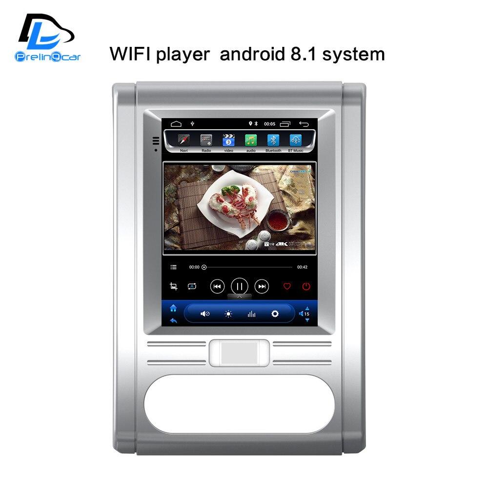 32G ROM Vertical écran android 8.1 voiture gps vidéo multimédia radio lecteur dash pour nissan MX6 X-sentier T31 voiture navigation stéréo