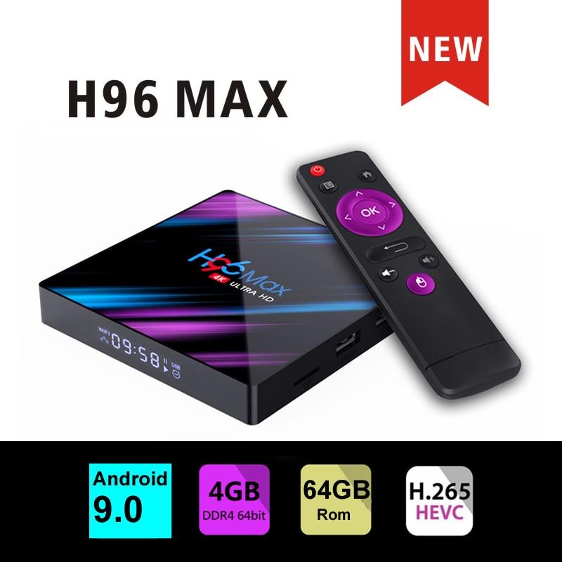 smart tv set top box H96 max 3318 Rockchip iptv 16G/4GB 4GB/64GB Wifi Bluetooth 4.0 h96 MAX Player Google