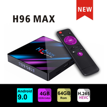 smart tv set top box H96 max 3318 Rockchip iptv 16G/4GB 4GB/64GB Wifi Bluetooth 4.0 h96 MAX Player Google