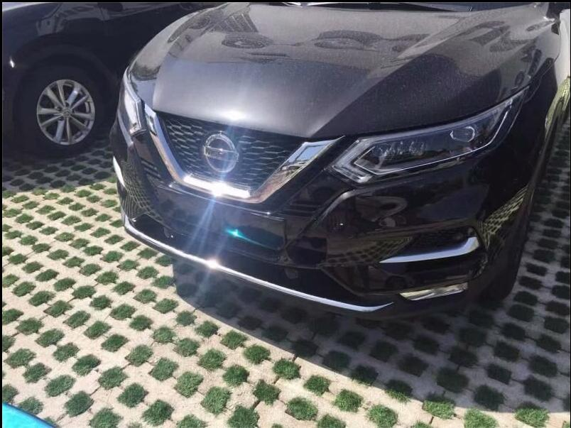 ABS Chrome  Front Bumper Protector Guard Lid Molding Cover Trims For 18 19 Nissan Qashqai 2018 2019|Chromium Styling|   - AliExpress