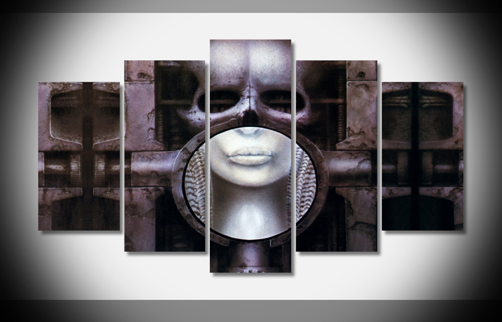 8367 ч Гигер мозг Фэнтези плакат-защелка галерея wrap art печати домашнего декора стен картину уже висел цифровой принт