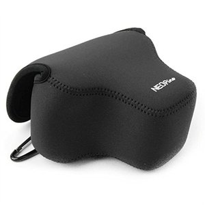 Image 5 - Portable Protective Soft Case Cover Waterproof Inner Camera Bag for Canon Powershot SX70 HS SX60 HS / Fujifilm X T3 18 55mm lens