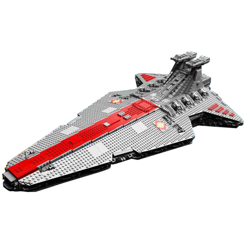 Lepin 05077 Star Series War Genuine The UCS Rupblic Star Set Destroyer Cruiser ST04 Set Building Blocks Bricks Boy Toys мастерок бетонщика трапеция профи 180мм fit hq 05077