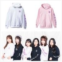 Kpop GFRIEND Cap Hoodie sweatshirts Women Men Jumper Pullover unisex hoody sweatshirt Fans Gift New