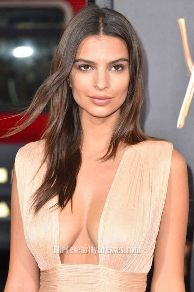 emily_ratajkowski_champagne_high_slit_evening_dress_sexy_red_carpet_gown_in_we_are_your_friends_2