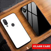 Tempered Glass Hard Cases For Xiaomi Red