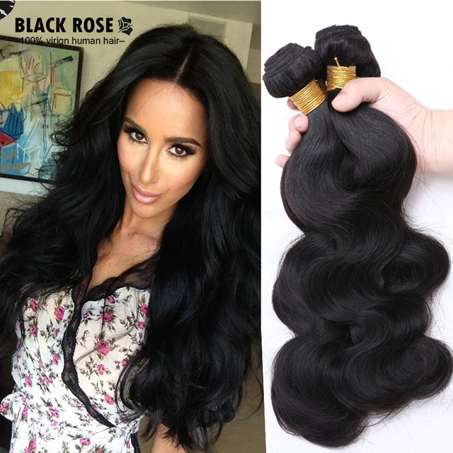 Black rose hair products wholesale price 9a indian body wave remy black rose hair products wholesale price 9a indian body wave remy hair weave bundles 4pcs pmusecretfo Image collections