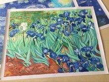 Irises II by Vincent Van Gogh Handpainted