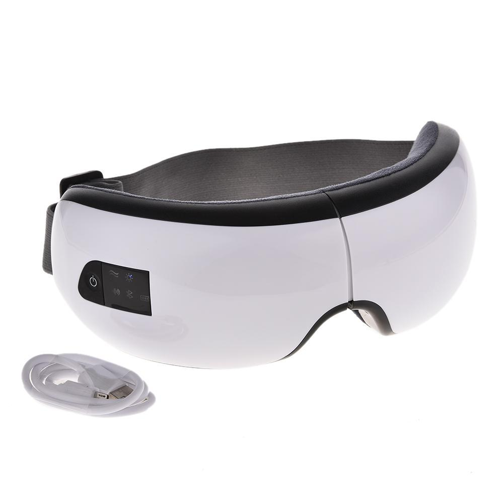 цены 4S Wireless USB Rechargeable mode Bluetooth Foldable Eye Massager Reducing Eye Bag Black Dark Circles Eye Protector