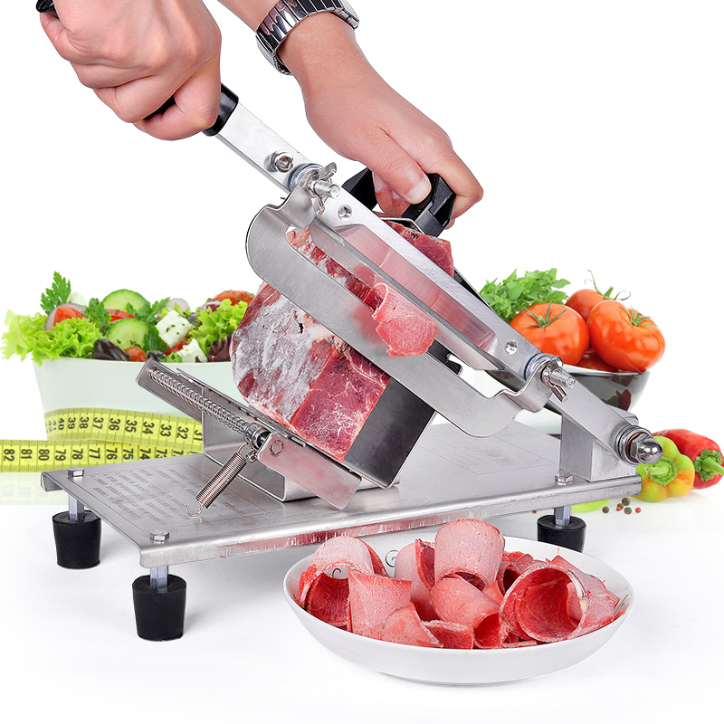Home Lamb Rinse Beef Cattle Mutton Roll Meat Slicer Stainless Steel Commercial Meat Grinder Machine stainless steel lamb home manual meat