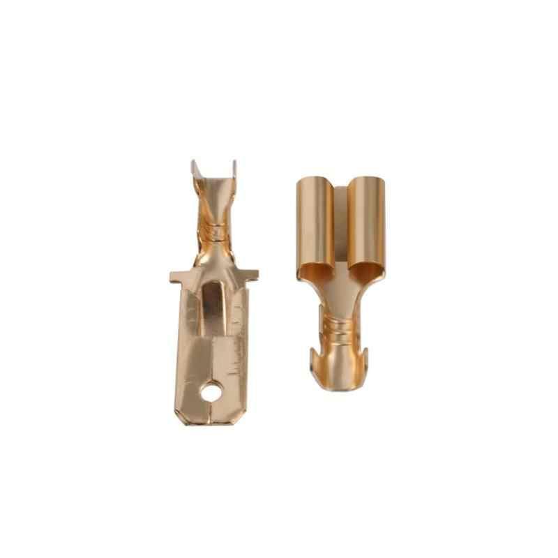 T-Тип 2-контактный DC Мощность разъем для подключения к электросети для VHF/UHF рации Kenwood Yaesu Icom радио Пластик + металл 100% Фирменная новинка мужской + женский костюм