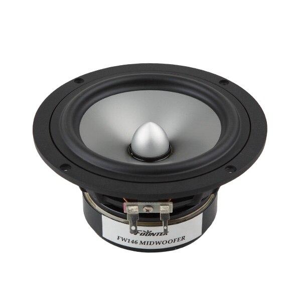 1PCS Original Fountek FW146 5'' Midwoofer Speaker Driver Unit Casting Aluminum Frame Aluminum Cone 8ohm RMS 35W D146mm Fs=50Hz