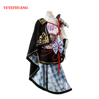 VEVEFHUANG Sengoku Night Blood Cosplay Costume Senbura Ranmanru Mori Adult Women Uniform Cosplay Costume Halloween Party Set