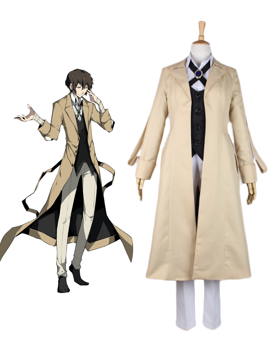 Bungou Stray Dogs Osamu Dazai Cosplay Costume-in Anime ...