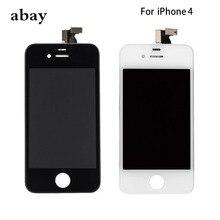 AAA dla iPhone 4 GSM A1332 CDMA A1349 4S wyświetlacz LCD moduł zamiana digitizera ekranu dotykowego ekran LCD GSM/CDMA nie martwy piksel