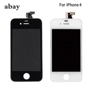 Image 1 - Aaa iPhone 4 GSM A1332 CDMA A1349 4 4S LCD ディスプレイタッチスクリーンデジタイザー交換モジュール GSM/CDMA 液晶画面デッドピクセル