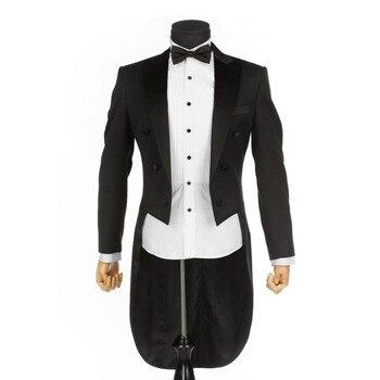 Men's suit high quality classic solid color men's tuxedo suit two-piece suit (jacket + pants) wedding groom dress custom