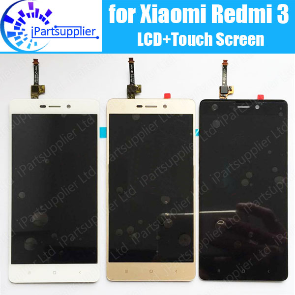 цены на for Xiaomi Redmi 3 LCD Display+Touch Screen Digitizer Assembly 100% New LCD Display+Touch For Xiaomi Redmi 3 + Free Tools