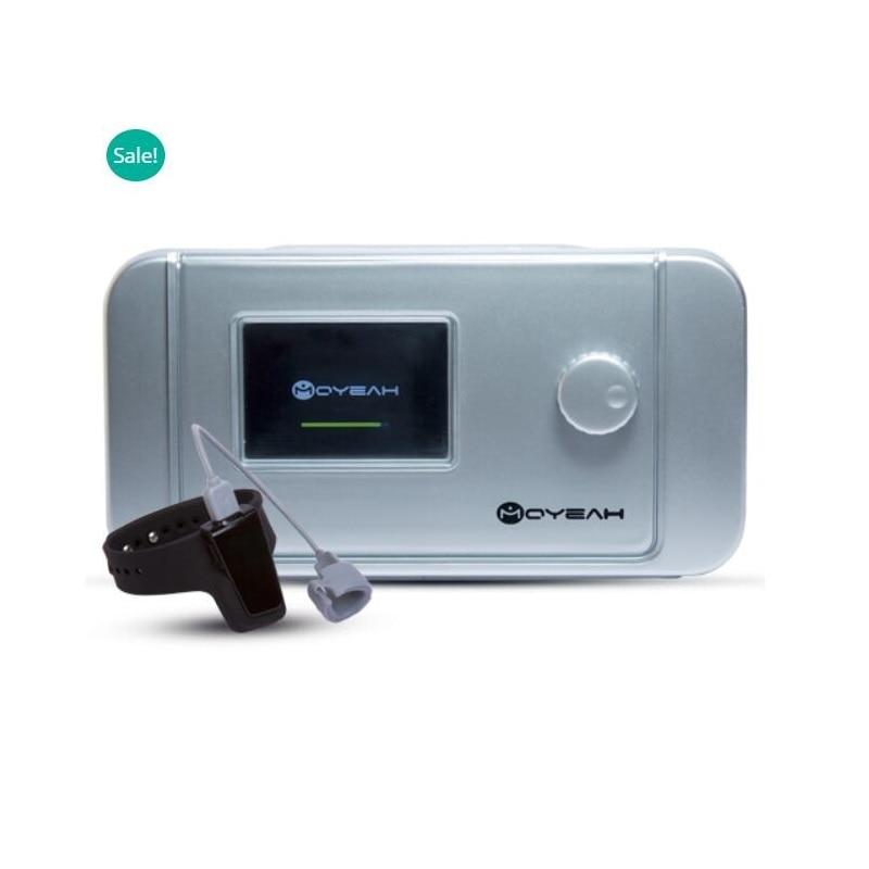 MOYEAH Auto CPAP máquina equipo médico con los ronquidos Anti dormir ayuda reloj y Wifi a Internet para la Apnea del sueño Anti ronquidos