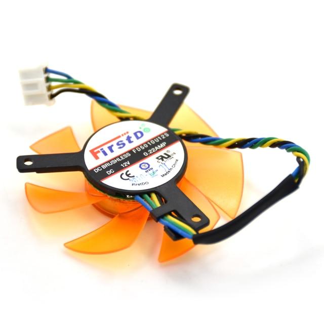 FirstD 47MM PLD05010S12H FD5010U12S 4Pin Cooling Fan Replace For ZOTAC 9400GT 9500G HD4650 HD3650 Graphics Card Cooler Fans