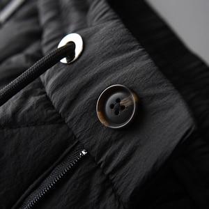 Image 5 - Minglu Inverno Pantaloni da Uomo di Lusso Aggiungere Imbottitura Spesso Tenere in Caldo Pantaloni Degli Uomini Più Il Formato 4xl Moda Elastico in Vita Degli Uomini di Autunno di Pantaloni