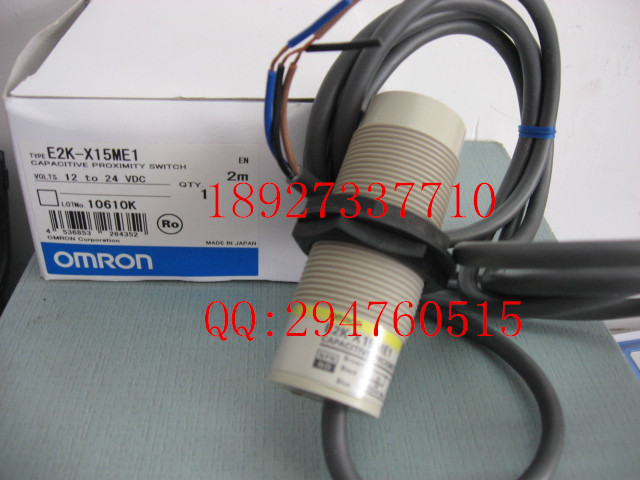 [ZOB] 100% brand new original authentic OMRON Omron proximity switch E2K-X15ME1 2M [zob] 100% brand new original authentic omron omron photoelectric switch e2s q23 1m 2pcs lot