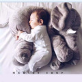baby Appease Sleep pillow Plush Stuffed Toys cute animals Elephant candy colors soft toys for Kids birthday Gifts