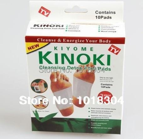 Opakowanie detaliczne 100 szt. 4Y Cleansing Detox Foot Kinoki Pads oczyść pobudź swoje ciało (1 partia = 5 pudełek = 100 sztuk = 50 sztuk łatek + 50 sztuk kleju)